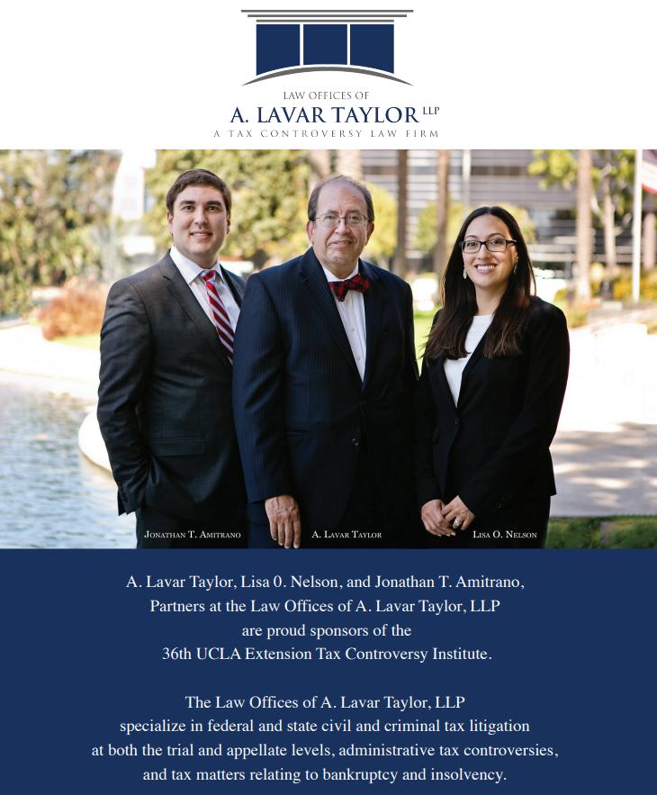 36th Annual Tax Controversy Institute