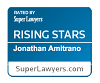 Super Lawyers Rising Star awarded to Jonathan Amitrano