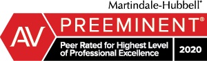 Peer Rated for Highest Level of Professional Excellence - AV