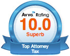 A. Lavar Taylor awarded AVVO best tax attorney
